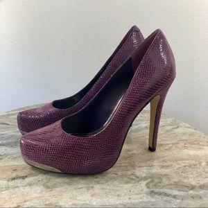 BCBG Generation Pumps size 6 M Purple Heels